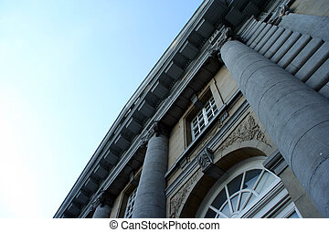 Neo classical build - A neo classical building in Belgium,...