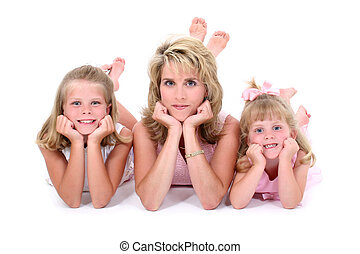 Mother Daughter - Mother and Daughter Portrait. Shot with...
