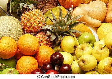 citrom- és narancsfélék, gyümölcs