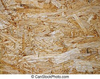 Fiberboard panel - Wooden fibreboard texture.