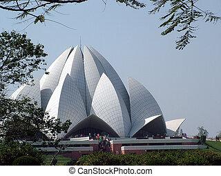 Bahai Temple, New Delhi, India