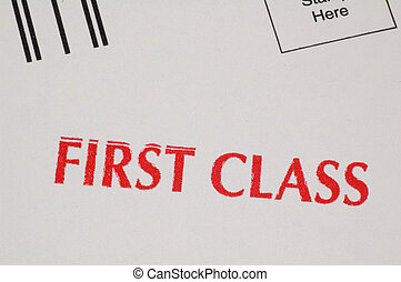 First Class Mail Stamp