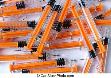 Syringes - Isolated syringes