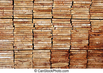 stacked boards - a house-to-be