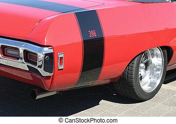 Red car - oldtimer