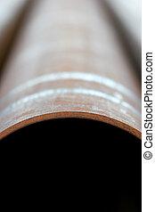 Acero, tubo, Extracto