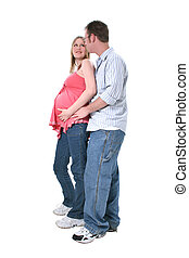 Pregnant Couple - Very sweet portrait of expecting parents....