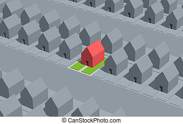 Real Estate - Select your house.
