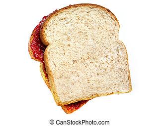 sandwich - Peanut butter and Jelly sandwich