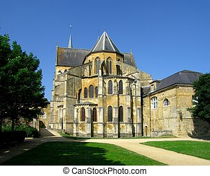 Abbey - Gothic Abbey in France(Mouzon)