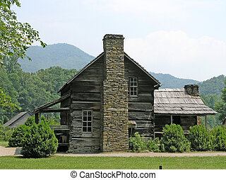 1800s Farm House - Early 19th century farm house at Smoky...