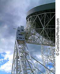 Radio Telescope - The Lovell Radio Telescopt at Jodrell...