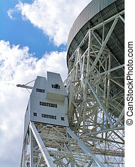 Radio Telescope - The Lovell Radio Telescope at Jodrell...