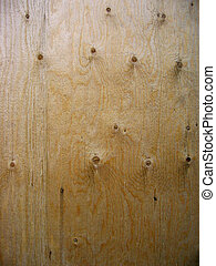 plywood background - the patterns on a sheet of weathered...