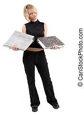 #44, donna d'affari