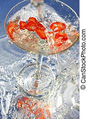 Cool Chili Vodka - Chili Vodka Martini splash