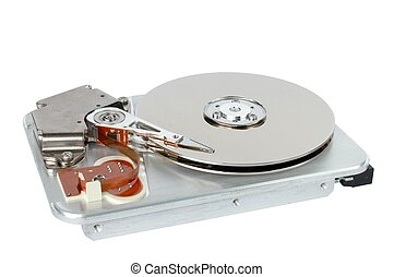 Harddrive - Isolated hard disc