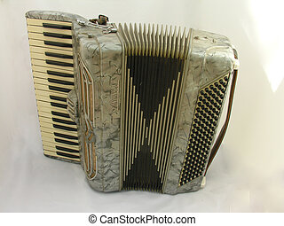 Accordian - An accordian on a white background.