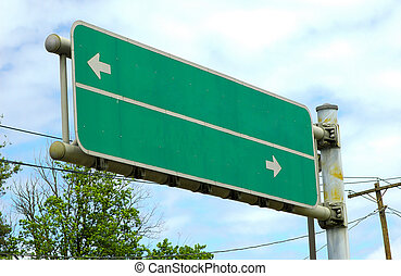 Road Sign - Photo of a Road Sign