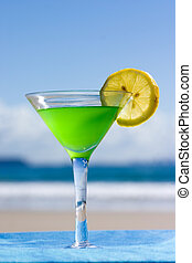 Alcohol on the Beach