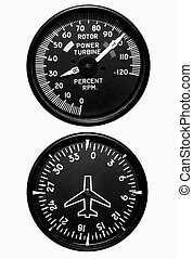 Flight Gauges - Isolated Flight Gauges