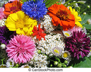 Bouquet of various flowers