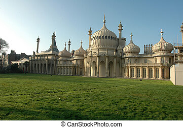 Royal Pavilion Brighton England - The Royal Pavillion palace...