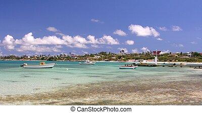 Lagoon - Caribbean lagoon at Coco Beach Aruba