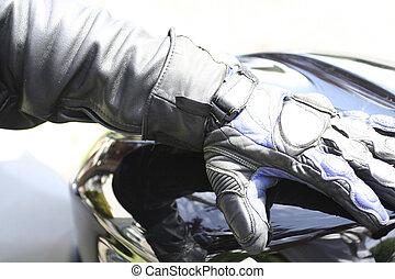 glove - biker glove