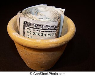 Cash - Pot of Money