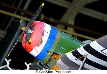 Model Fighter Plane - Model of a Vintage Fighter Plane