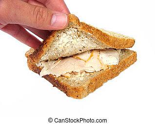火雞, 三明治