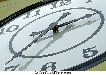 Clock Hands - Photo of a Large Clock