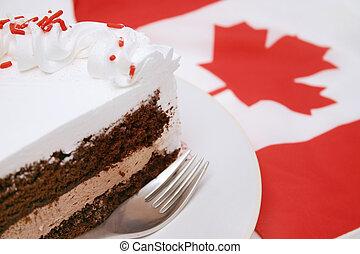 蛋糕, 薄片
