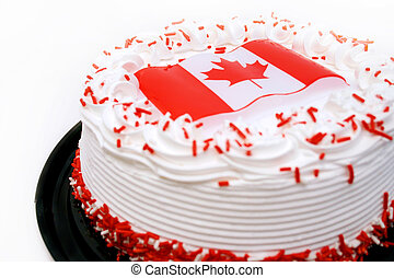 Canada themed cake