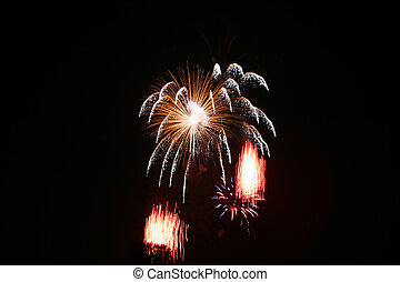 Fireworks Series - 4th of July Fireworks - Hunterdon County...