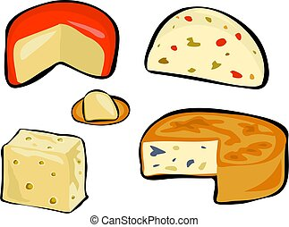 Cheese - cheeses