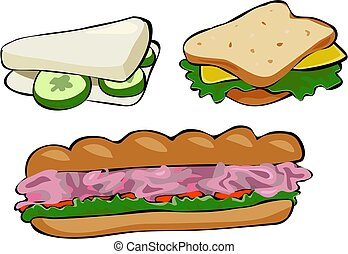 Sandwiches - tasty snacks