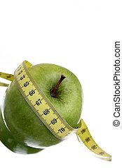 dieta, maçã