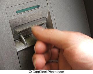 ATM, transacción