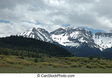 San Juan Range - San Juan Mountains near Ouray County 5