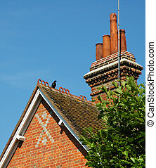 roof and chimney - english roof and chimney