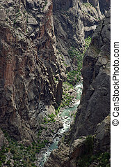 Black Canyon of the Gunnison National Park in western...