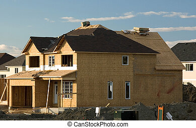 New Home Construction, Ontario, Canada