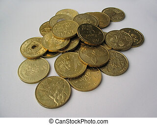 gilded coins collect
