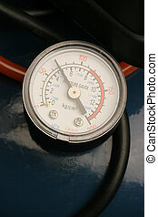 pressure gauge - close-up of pressure gauge
