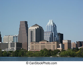 Austin, Texas : Downtown - A nice clear shot of downtown...