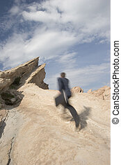 Climb to success - Business concepts - business anywhere