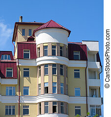 Apartment building - The modern apartment building....