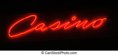 Casino - Black Casino sign